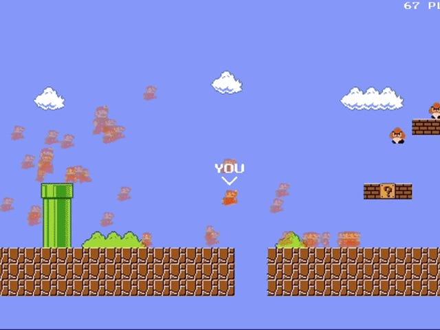 Han Convertive el Mario de un Battle Savaş Royale épico para navegadores web