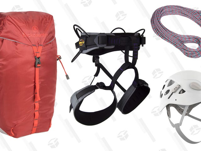 Take Your Savings to New Heights With Up to 40% Off Climbing Gear From Backcountry