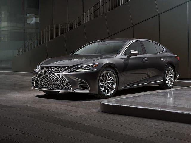 The 2018 Lexus LS starts at $76,000