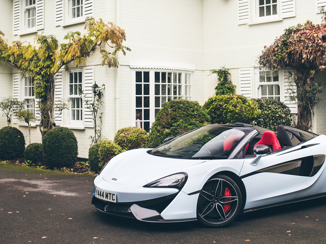 McLaren Develops A Revolutionary New Color: White