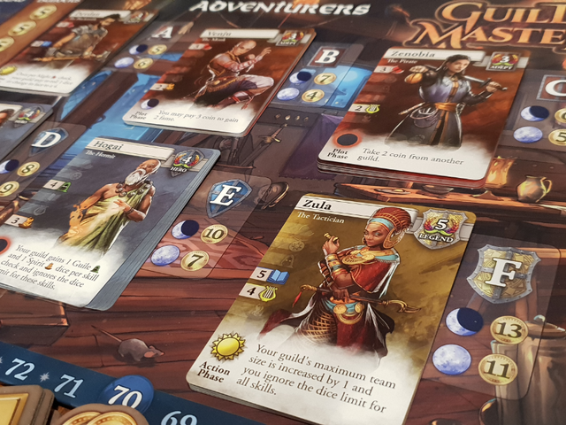 <i>Guild Master, </i>A Board Game Where You're Giving Out The Quests