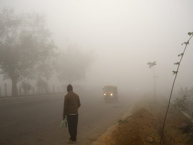 Experts Recommend Oxygen Tanks to Deal With Delhi's Crippling Pollution
