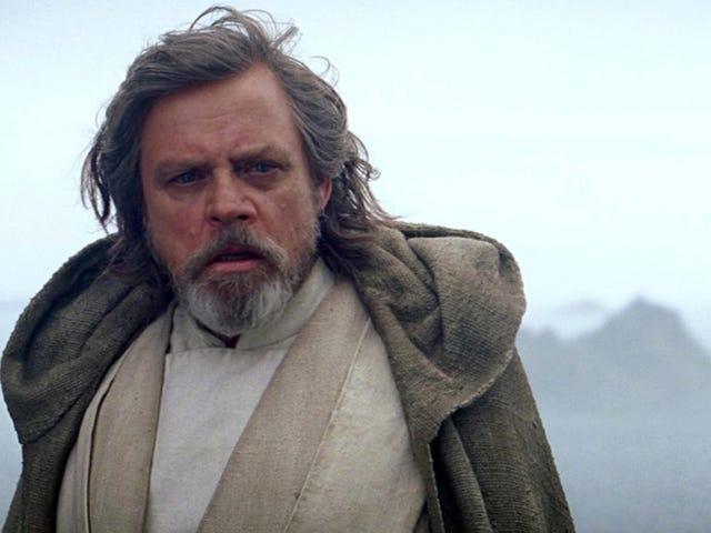 Mark Hamill no solo tolke en Luke Skywalker en The Last Jedi, hør ikke en gang, og vær så snill med å selge deg selv