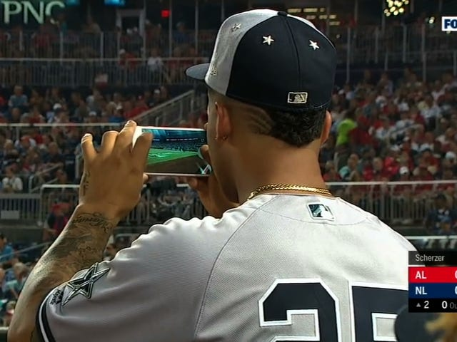 Gleyber Torres's Video Isn't The Best Way To Watch Aaron Judge's All-Star Game HR, But It Is The Funniest