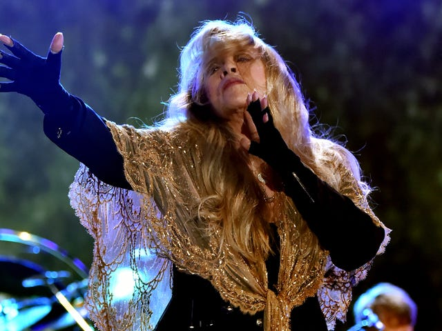 Stevie Nicks has thousands of shawls, keeps them in a temperature-controlled vault