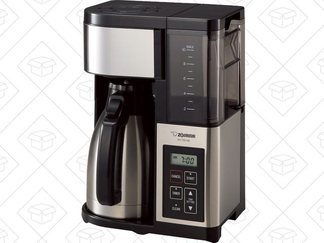 Wake Up and Smell the Deal On This Zojirushi Coffee Maker