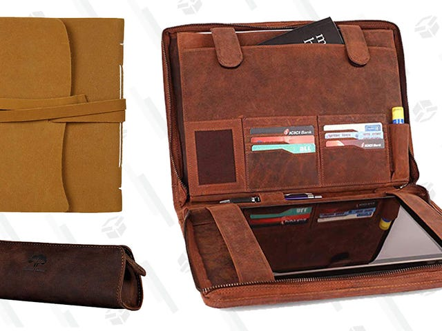 Look Good in Leather? So Will Your Writing With This Amazon Sale.
