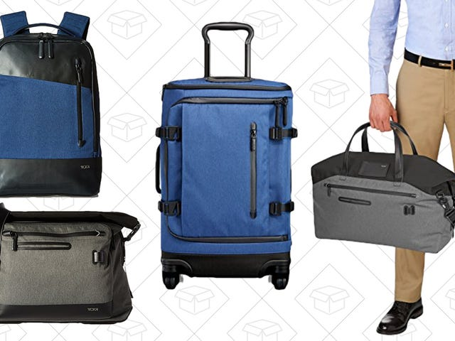 Pack for Vacation Properly While Saving Hundreds With This Tumi Tahoe Sale