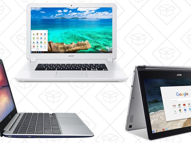 Take Your Pick of Discounted Chromebooks for Prime Day