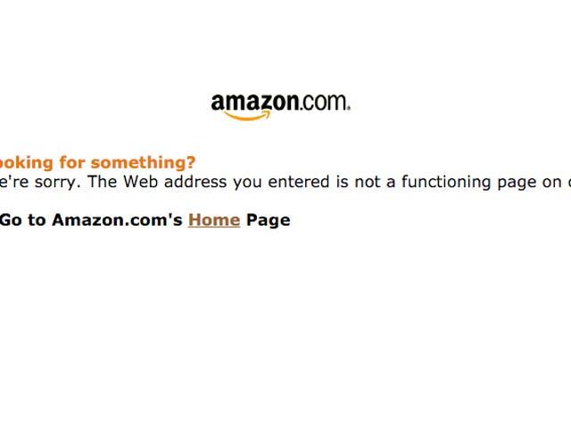 Щось не так з Amazon.com [Оновлення: Це прекрасно зараз]