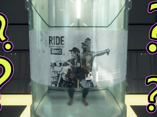 10 Questions I Have About That Weird Advertisement That Pops Up While Pooping In Death Stranding
