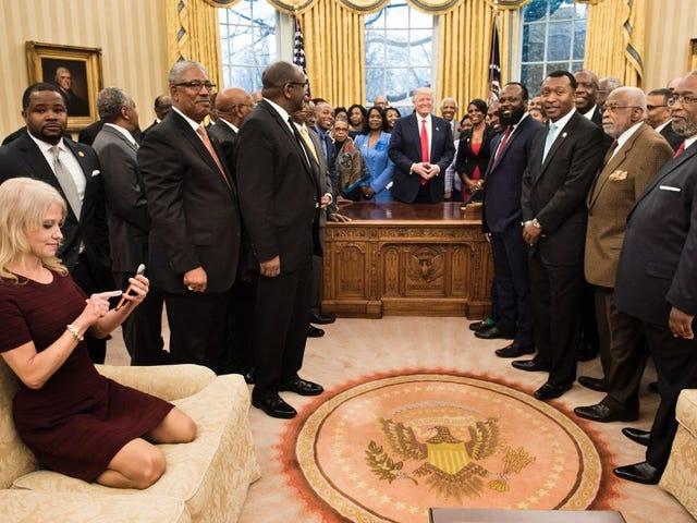 Få føttene dine av det Damn White House Couch, Kellyanne Conway