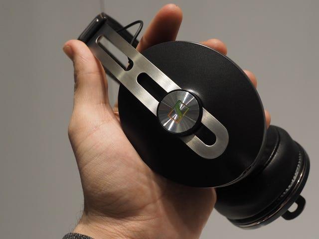 Sennheiser's Dope Momentum-hoofdtelefoon is nu draadloos, ruisonderdrukking