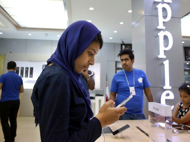 Los usuarios de iPhone de Irán están bloqueados en el App Store