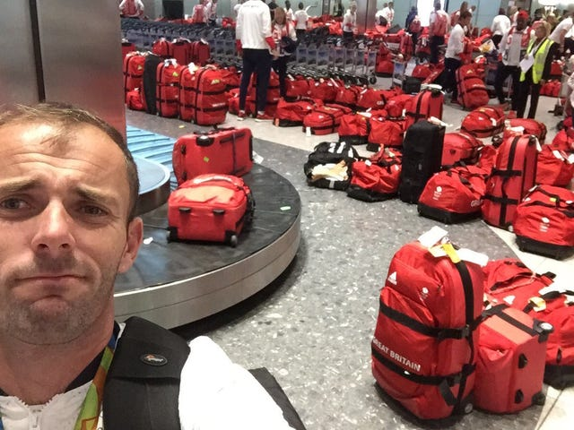 Team Great Britain Thought It Was Being Helpful By Providing The Luggage