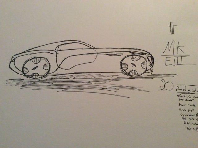Vamos desenhar um Lincoln Coupe