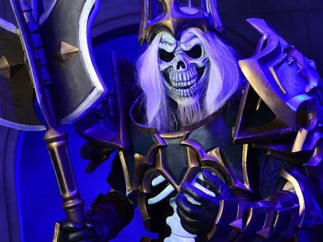 King Leoric Cosplay Is Metal AF