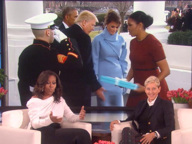 Michelle Obama cuối cùng tiết lộ điều gì đã xảy ra trong đó Tiffany & Co. Melania Trump đã đưa cô vào Ngày Lễ nhậm chức