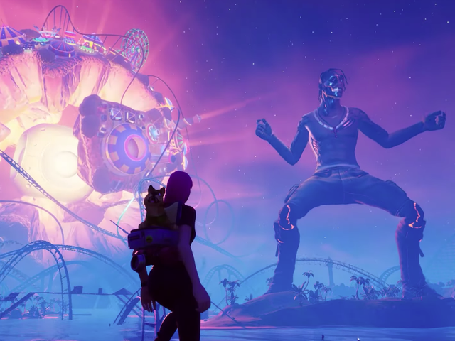 Against all odds, Travis Scott's Fortnite event was actually pretty amazing