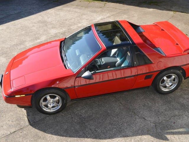 At $6,500, Does This 1988 Pontiac Fiero Have The Right Formula?