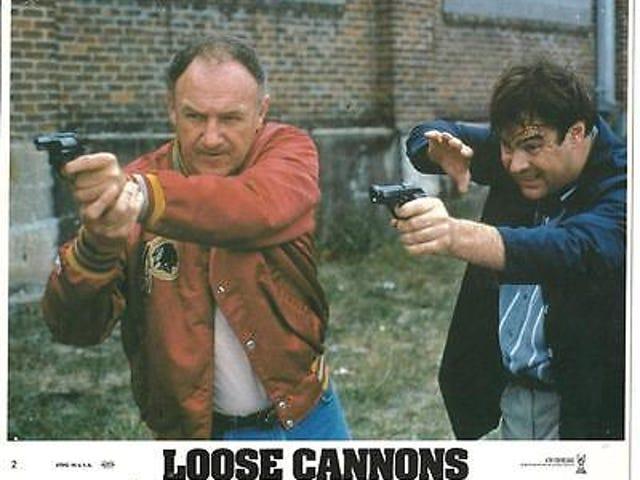 Cañones sueltos (1990) y Collision Course (1989)