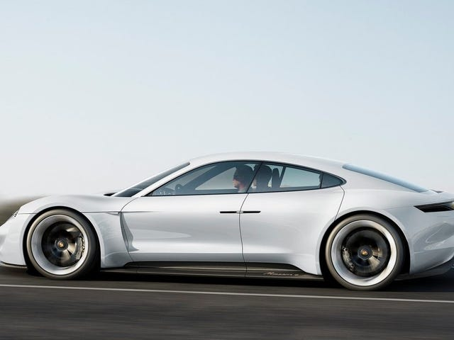 Porsche Is Considering A Sporty Electric Coupe Based On The Mission E
