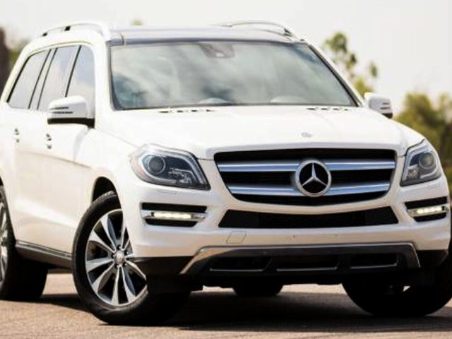 At $31,500, Would You Dip Your Toes Into The Three Rows of This 2013 Mercedes Benz GL350 Designo Bluetec?