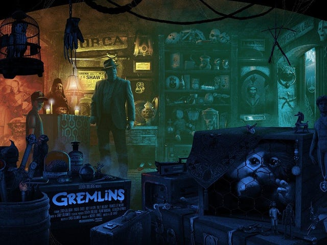 Help Find All the Easter Eggs in This Fantastic GREMLINS Poster