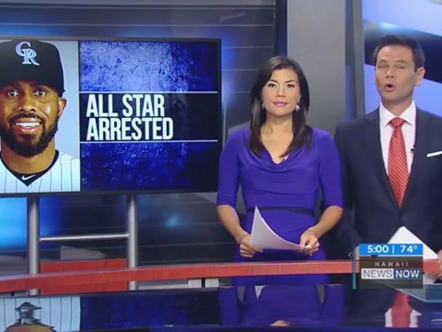 Relazione: José Reyes arrestato dopo aver presumibilmente spinto la moglie in una porta scorrevole di vetro