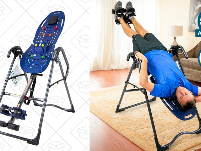 Stretch Out and Relieve Back Pain With This $240 Inversion Table