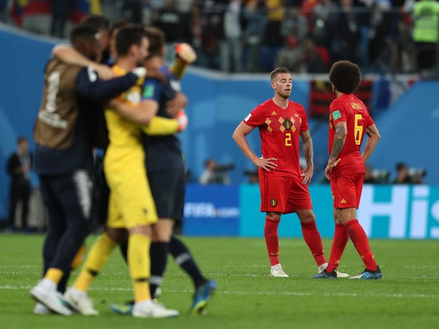 Belgium Sound Pretty Salty About Losing To France