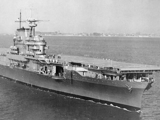 Han encontrado el USS Hornet sul fondo del Pacifico e il suo figlio è in espansione