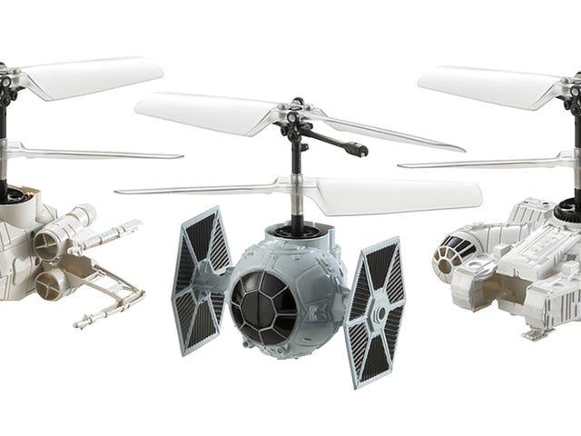 Genoptag Epic <i>Star Wars</i> kampe i dit soveværelse med disse små RC-legetøj