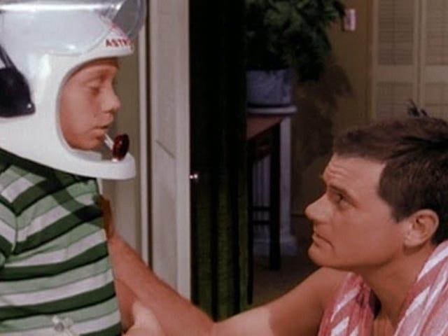 Gee! I wish I was a real astronaut like you!