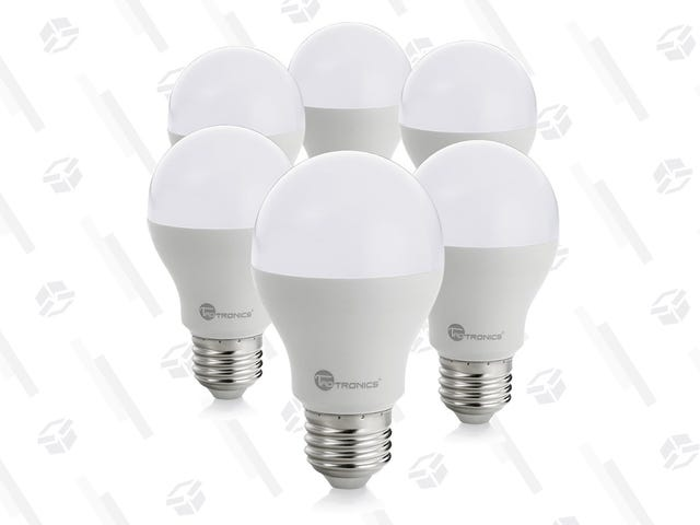 Upgrade Six Light Bulbs to LED For Just $13