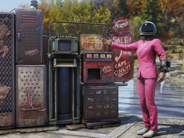 Toko Player-Run Telah Membuat <i>Fallout 76</i> Tempat Yang Jauh Lebih Bagus