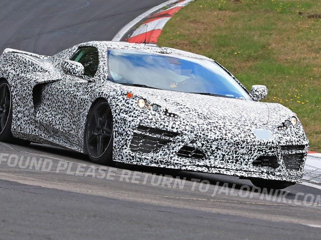 Here's The Mid-Engine 2020 Chevrolet Corvette Storming The Nürburgring