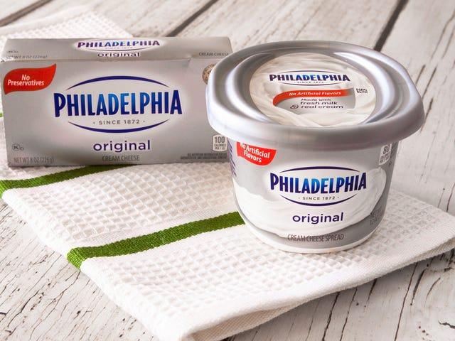Shocking expose reveals that Philadelphia cream cheese originated in... New York