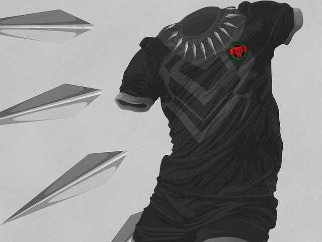 If Wakanda Had World Cup Uniforms, They'd Look Like This
