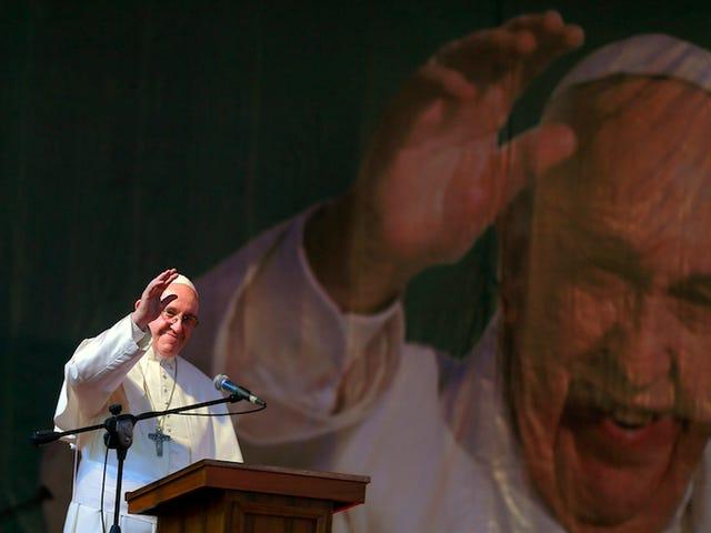 """El Papa Francisco erklærer, at hun ikke er en søn, der er """"un pecado muy grave"""", fordi han ikke er involveret"""