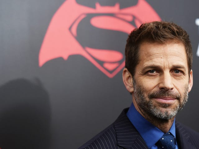 Zack Snyder Will Continue to Make Movies About Superhumans With The Fountainhead