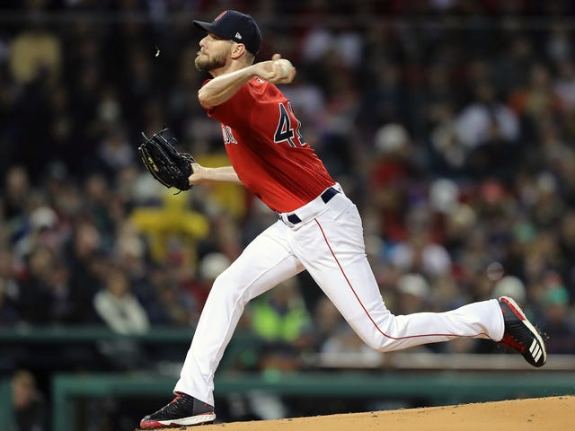 Chris Sale Does Not Have A Belly Button Ring, But It'd Be A Lot Cooler If He Did