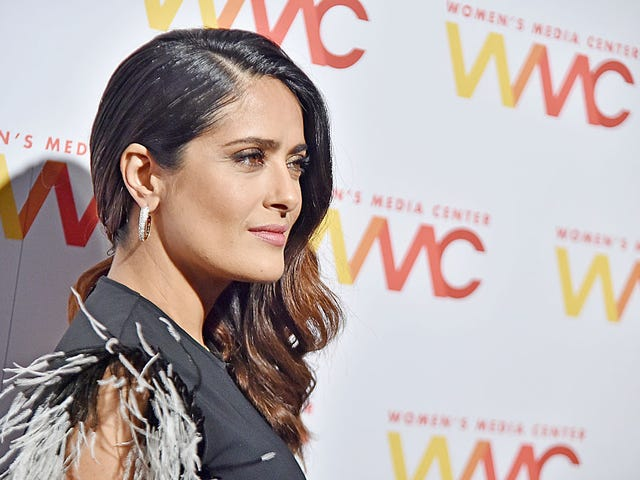 Trump Planted a Bitchy Story About Salma Hayek After She Refused to Go Out With Him