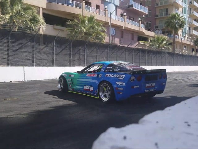 Corvette C6 Drift Car Figure Eight Donuts