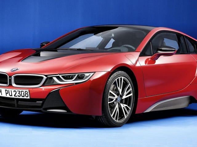 De BMW i8 krijgt eindelijk een pittige kleur