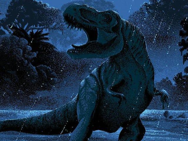 Ces affiches de <i>Jurassic Park</i> sont aussi belles que le film lui-même