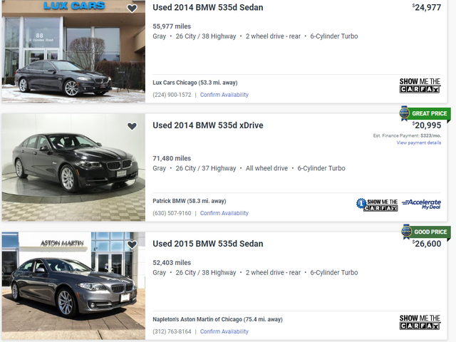 Oppo thoughts on the BMW 535D?