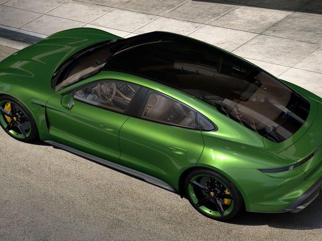让我们配置您的Porsche Taycan