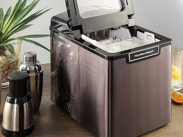 Ice Ice Savey - Score a Discount on the Portable Ice Maker of Your Choice