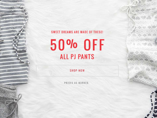 Cozy Up To This Deal On PJ Pants From American Eagle